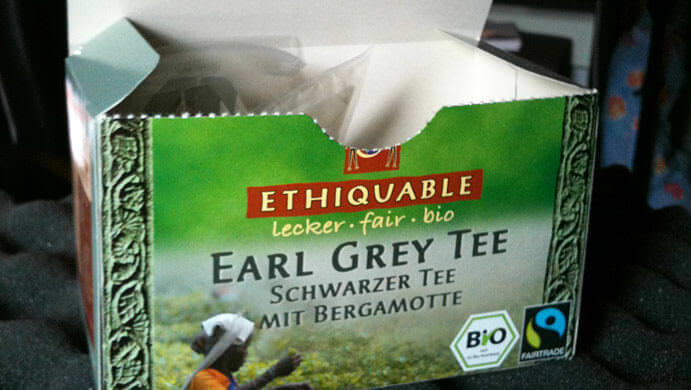 And... TEA!