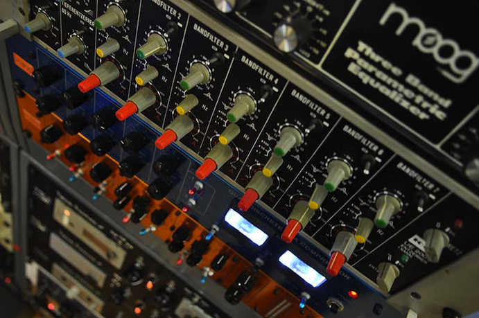 Moog Three Band EQ and Klein + Hummel UE200
