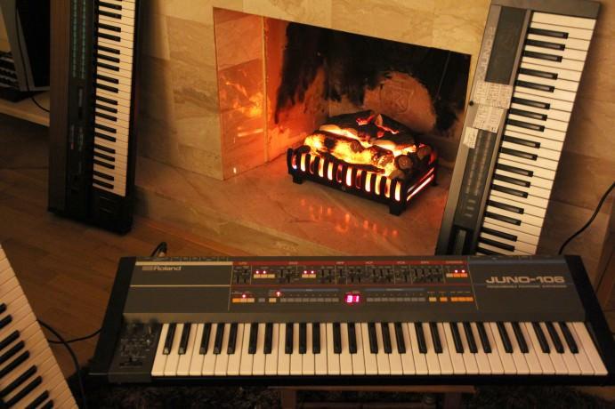 Roland Juno 106, Alpha Juno 2 & Yamaha DX7