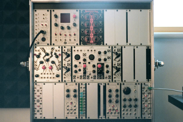 Sequencing and sound processing modular system