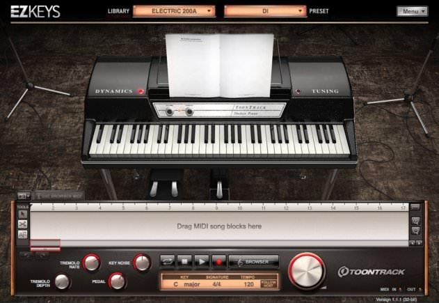EZKeys Piano Shot