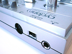The TT-303 replaces DIN sync with MIDI