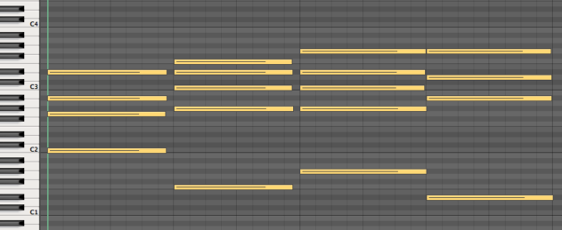 7 Chords Different Voicings