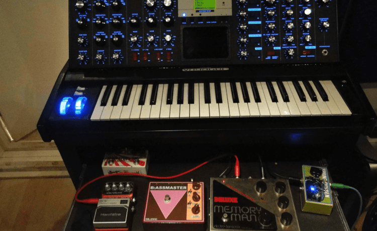 Moog Voyager & Pedals
