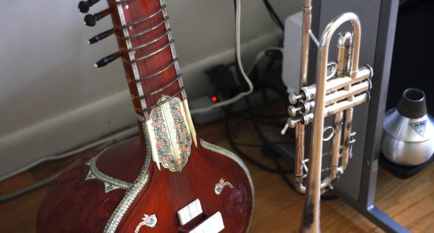 Sitar & Trumpet