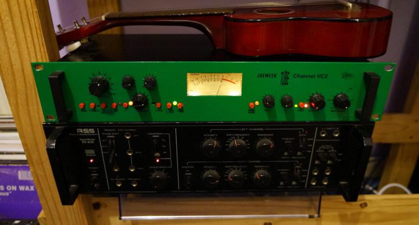 Joemeek VC2 & Roland PH-830