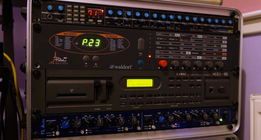 Novation BassStation, Waldorf Pulse+, Kawai XD-5 & TL 2011