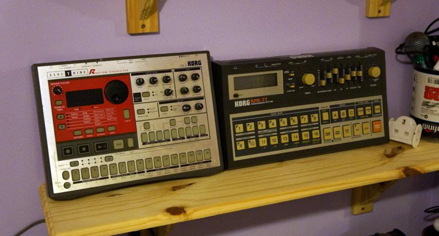 Korg Electribe ER-1 & KPR-77