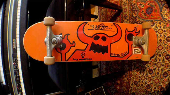 Toy Machine - Ed Templeton Skate Deck