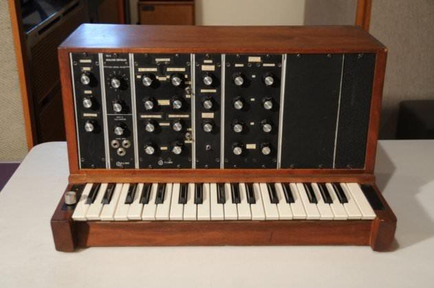 The Minimoog Model A prototype (photo: Audities Foundation)
