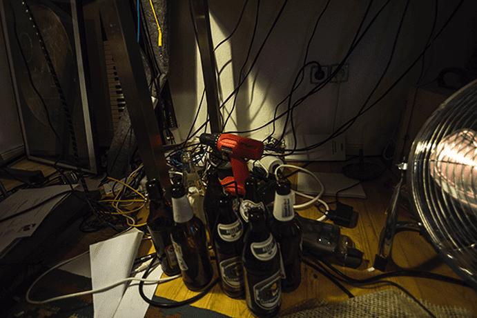 Beers, Drill, Fan