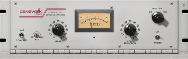 Cakewalk's CA-2A Leveling Amplifier plugin