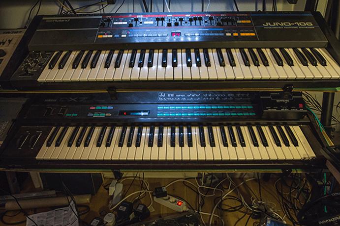 Roland Juno-106 & Yamaha DX7