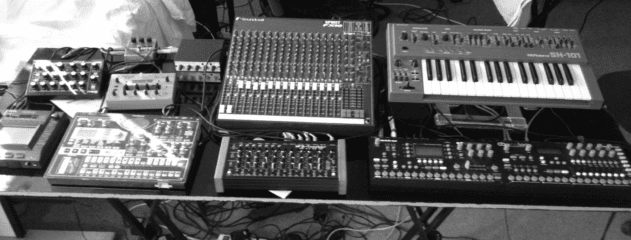 Exercise One's live setup