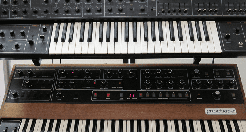 Yamaha CS-30 & Sequential Circuits Prophet-5