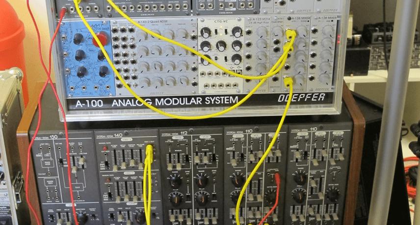 Eurorack Modular & Roland System 100m