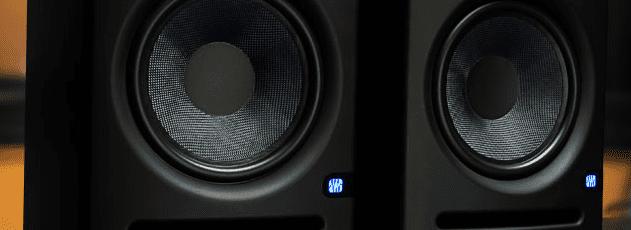 PreSonus Eris E5, pair black monitor speakers