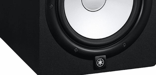 Yamaha HS8, studio monitor, single, black
