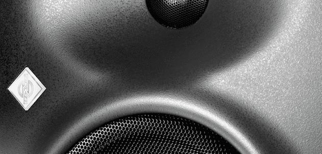 Neumann KH120, studio monitor black, single