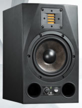 ADAMS AX9 - Active Studio Monitor (Nearfield), Black, Single