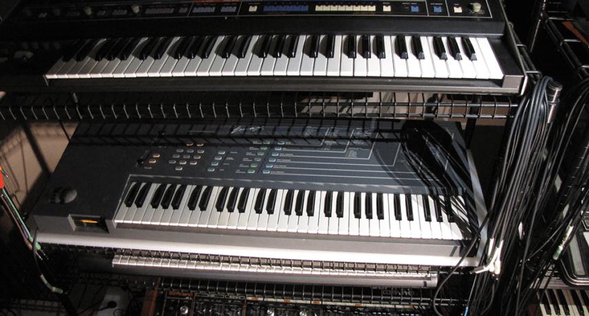 Roland Jupiter-6, Jupiter-4 & E-mu Emax