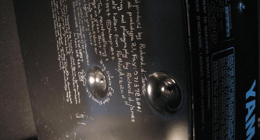 Aphex Twin's Old Yamaha CS-5