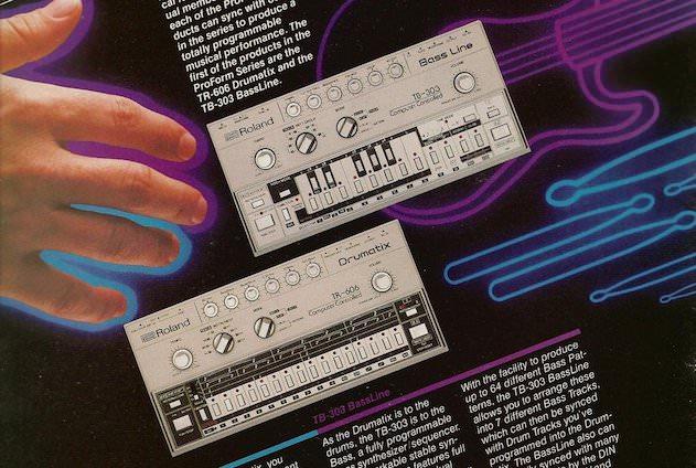 Roland TB-303 & TR-606, May 1982 advert