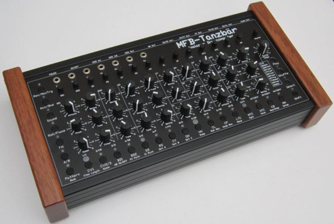 MFB Tanzbär, hardware drum machine