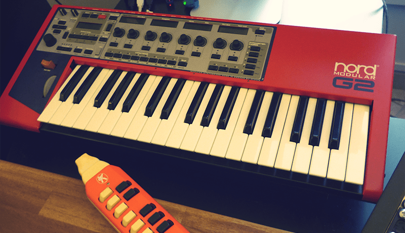 Nord Modular G2 & Hohner Melodica