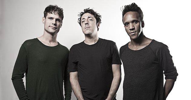 Shonky (left) with his Apollonia mates Dan Ghenacia and Dyed Soundorom