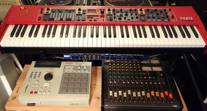 Nord Stage, MPC, Mixer & Lexicon MX200