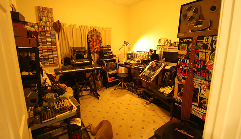 M. Geddes Gengras - My Studio