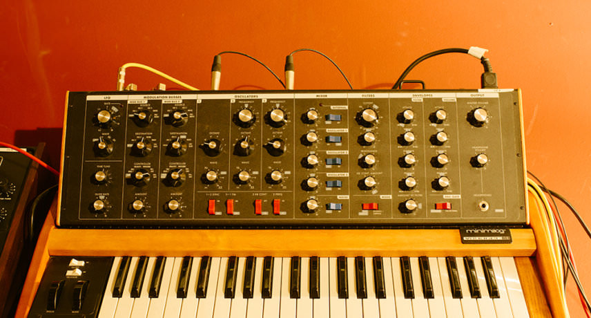 Minimoog Voyager Old School