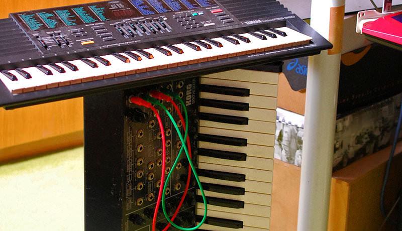 Yamaha PSS-380 & Korg MS-20