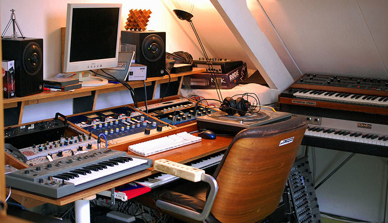 Roland Klinkenberg - My Studio