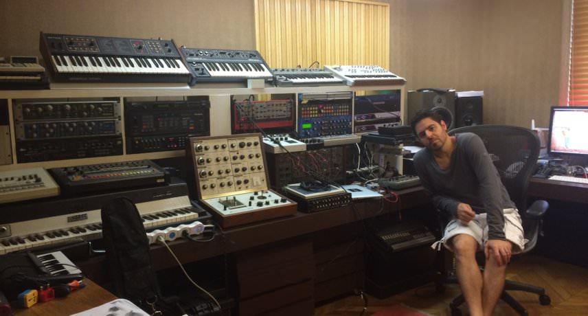 Gui Boratto –My Studio