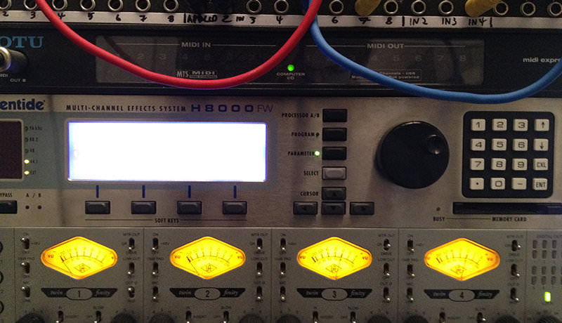 Eventide H8000 & Universal 4-710d