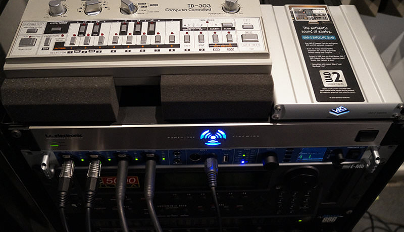 UAD2, Powercore and TB-303