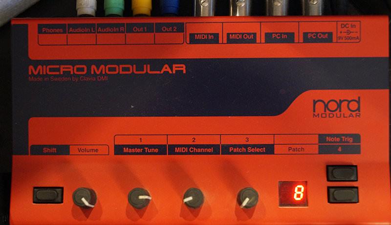 Micro Modular by Clavia