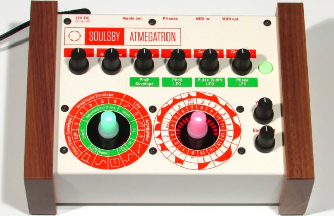 SOULSBY ATMEGATRON, new digital synth