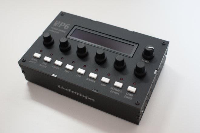 AUDIOTHINGIES P6, new digital synth