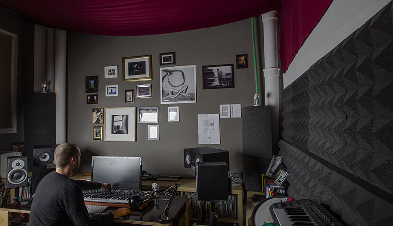 Monitors: EVE Audio SC307 and Dynaudio BM5A