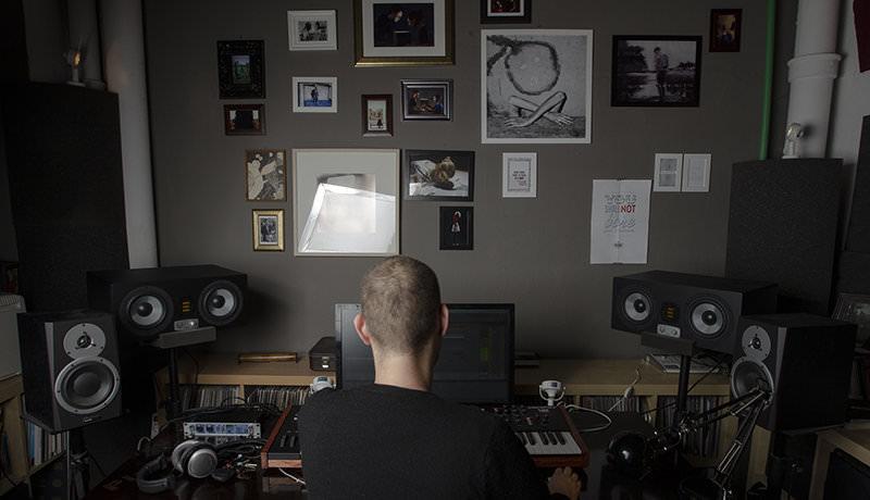 Douglas Greed - My Studio
