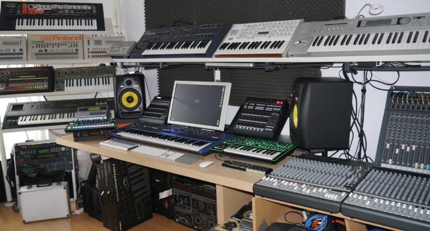 Vince Watson - My Studio
