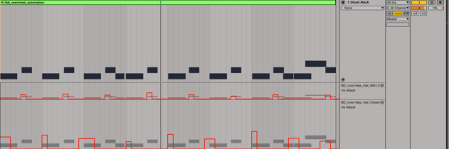 Drum Rack_attack automation