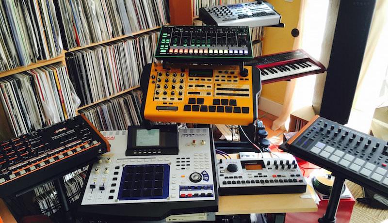 EMU XL-Z and Akai MPC4000