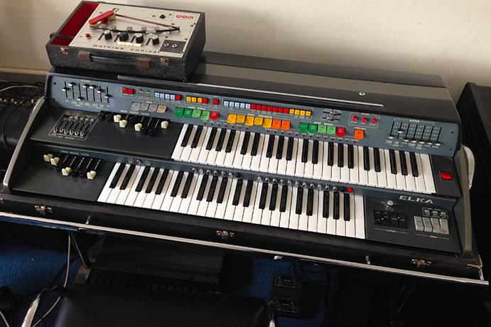 Elka X705 Space Organ