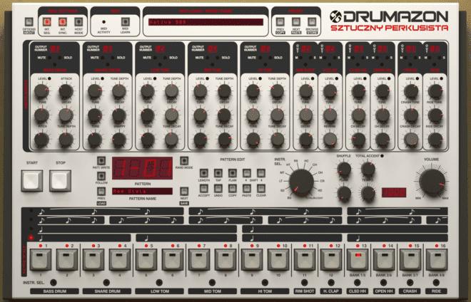 D16 Drumazon, drum synth plugins