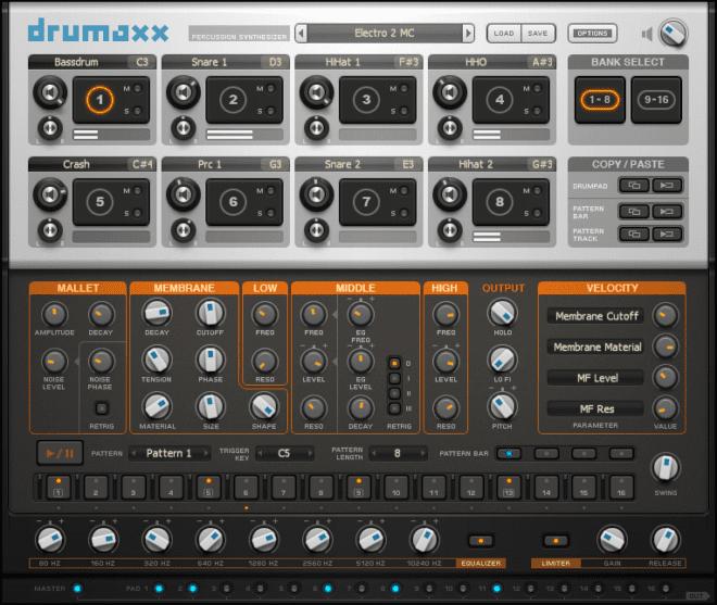 Image-Line Drumaxx, drum synth plugins