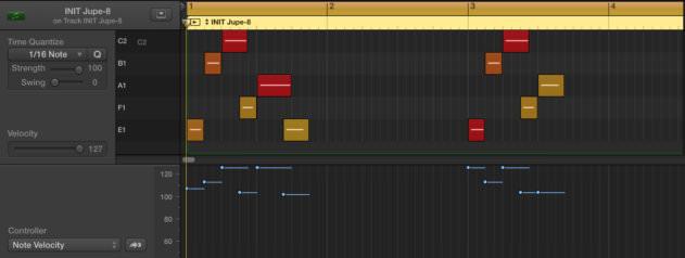 MIDI Screenshot